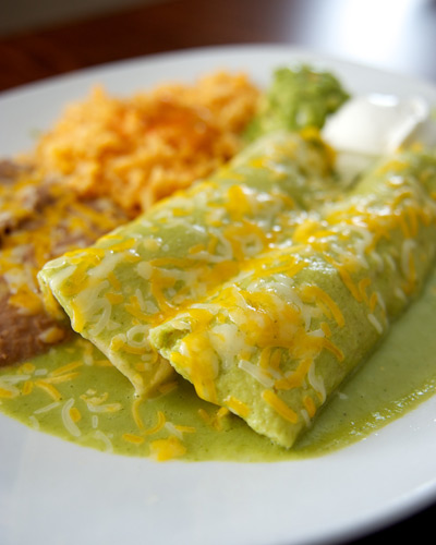 Spinach-Enchiladas