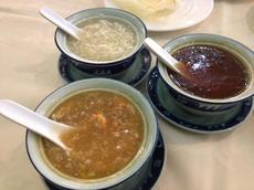 Fish maw, faux shark fin and bird's nest soup from Ocean Star/ Photo by Clarissa Wei