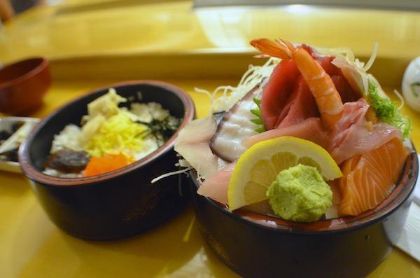 Chirashi bowl | Photo by Clarissa Wei