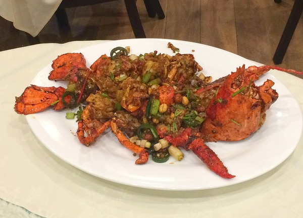 Lobster at China Red | Photo by Clarissa Wei