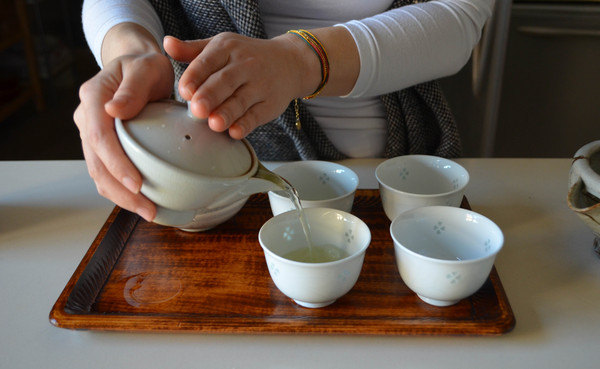 Tea session with Yoko | Photo by Clarissa Wei