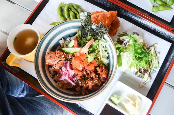 Sashimi Bowl | Photo by Clarissa Wei