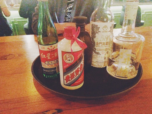 Baijiu collection from Peking Tavern | Photo by Clarissa Wei