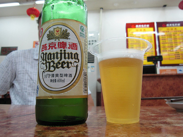 Yanjing Beer | Photo by Flickr/brostad