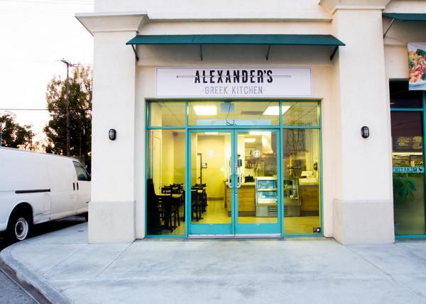 Exterior | Photo by Alexander's Greek Kitchen