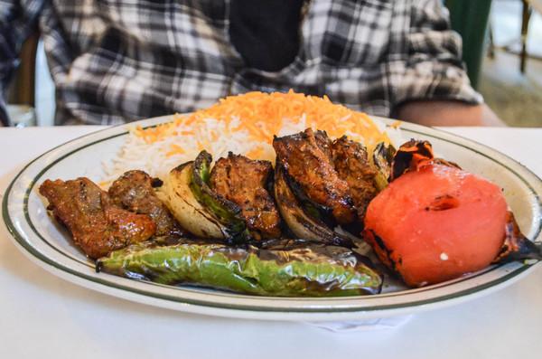 Beef kebab | Photo by Clarissa Wei