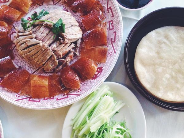 Beijing duck platter from Tasty Duck | Photo by Clarissa Wei