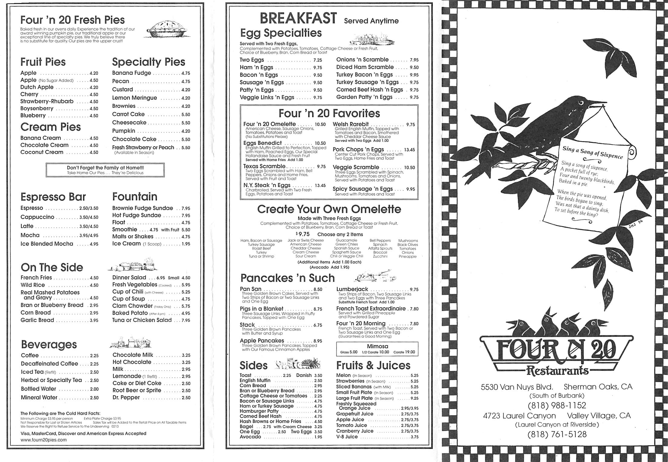 four-n-20-menu