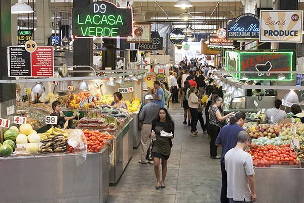 Grand Central Market. Photo: Maria Zizka