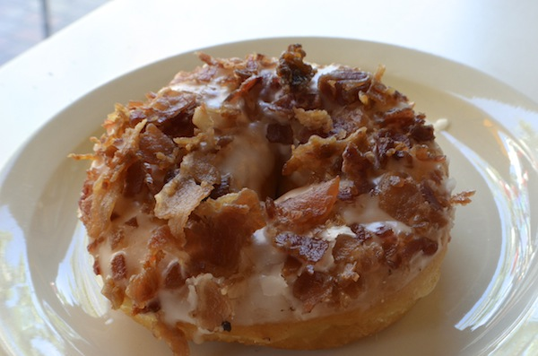 Bacon Donut | Photo by Nick Yee