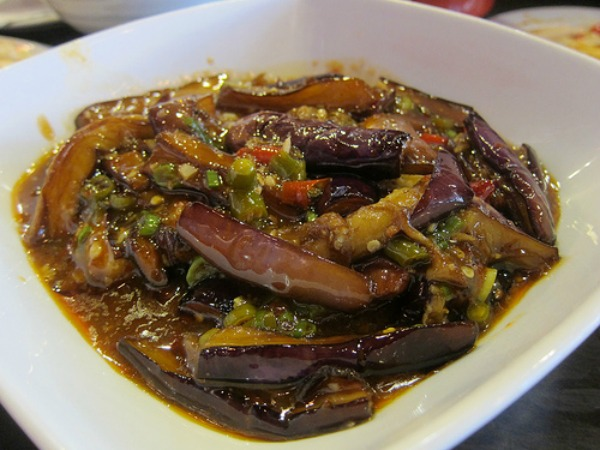 Chengdu Taste Eggplant | Photo by The Minty