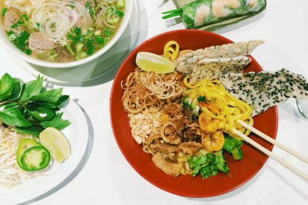 Mi quang at Hoa Binh | Photo by Clarissa Wei