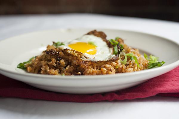 Kimchi Fried Rice | Photo by Maria Zizka