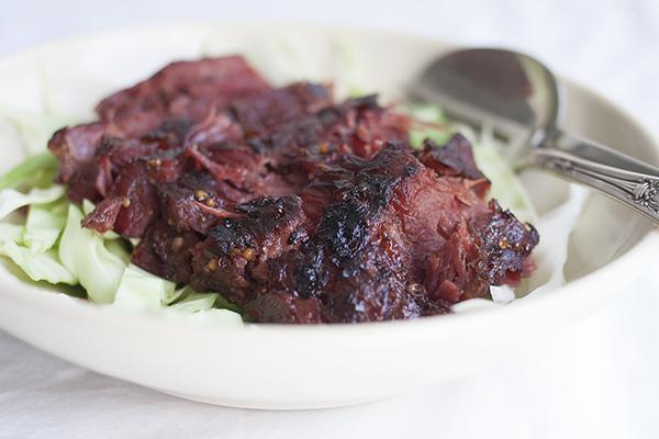 Stout-Glazed Corned Beef