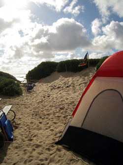 Weekend Trip Camping In The Sand At Jalama Beach Kcet