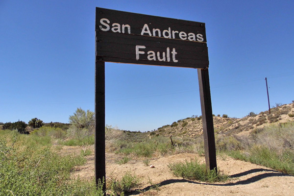 A Guide To Earthquake Tourism Along The San Andreas Fault Kcet