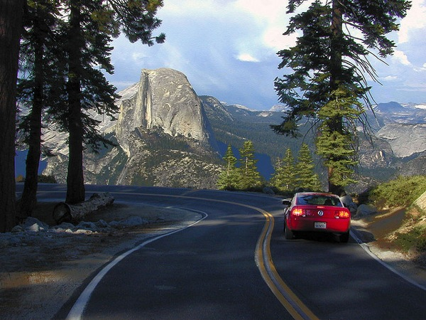 Glacier Point Rd. will reopen to vehicles on Monday afternoon.