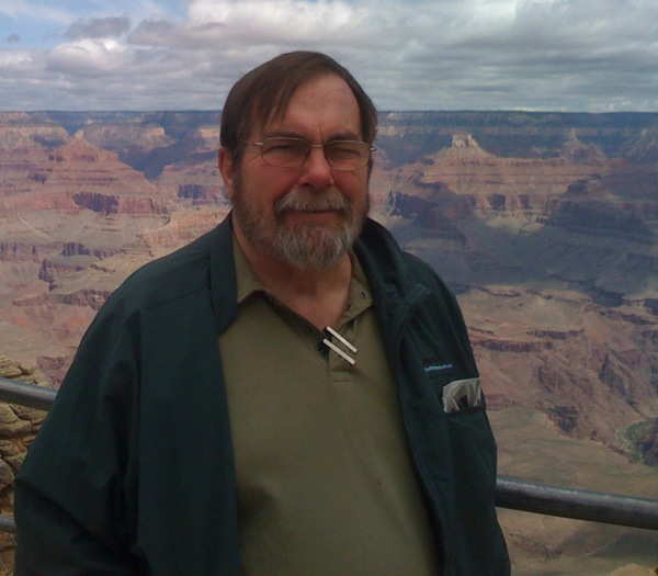 Joe Wysocki at Grand Canyon National Park. | Photo: Courtesy NPS