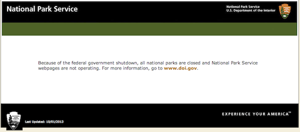 government-shutdown-national-parks-websites
