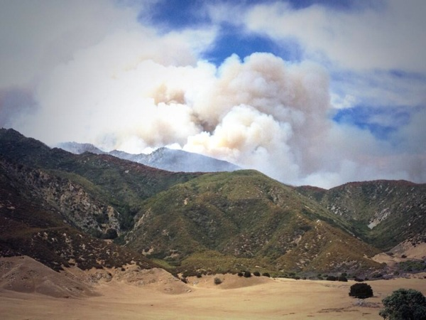 The Hathaway Fire. | Photo: Courtesy U.S. Forest Service