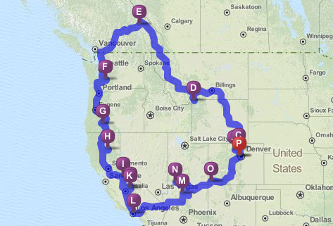 Road Trip Challenge: The National Park-to-Park Touring Route | KCET