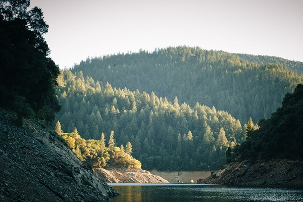 Lake Oroville State Recreation Area.