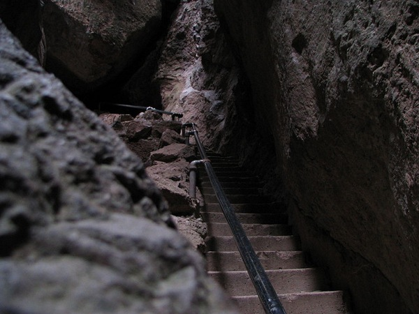 Lower Bear Gulch Cave.