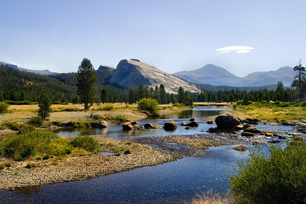 Tuolumne Meadows in Yosemite National Park.