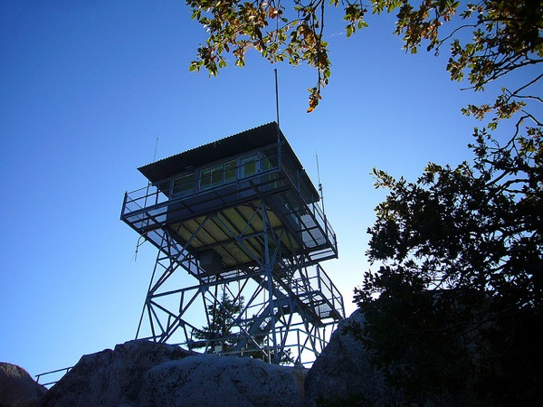 The Black Mountain Fire Lookout is among the closures.