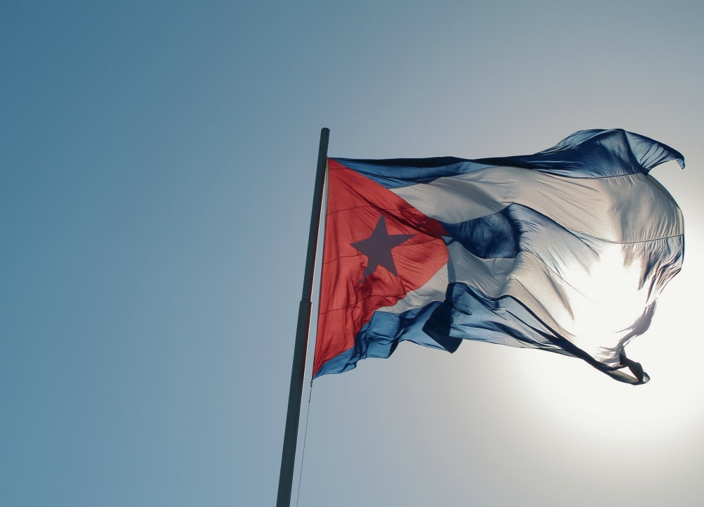 Not all Cuban Americans are enthusiastic about Obama's announcement that he will restore diplomatic relations with the Caribbean island nation. Here, a Cuban flag.
