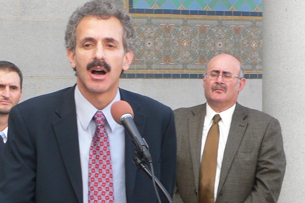 City Attorney Mike Feuer announced an agreement with Pacifica Hospital of the Valley on Thursday to pay $500,000 to homeless services providers.