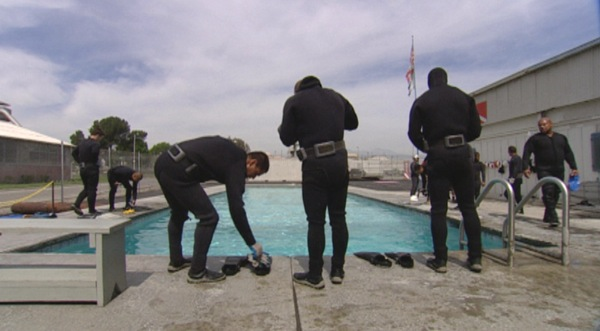 Divers preparing for lessons. | Photo: KCET/Socal Connected