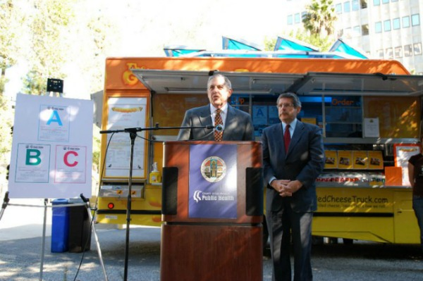 L.A. County is currently charged with restaurant and food truck inspections. If voters approve the measure, that duty will go to the city.