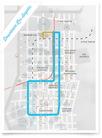Map: Via Los Angeles Streetcar, Inc.