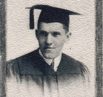 Ralph Cornell's graduation photo. | Photo: Courtesy Pomona College