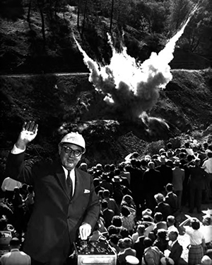 Gov-Edmund-_Pat_-Brown-setting-off-first-blast-for-the-diversion-tunnel-at-Oroville-Dam