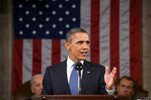 President Barack Obama delivers the State of the Union in 2011. | Photo: Courtesy The White House