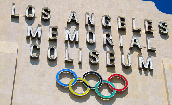 The Los Angeles Memorial Coliseum has hosted the Summer Olymipcs twice -- in 1932 and 1984.