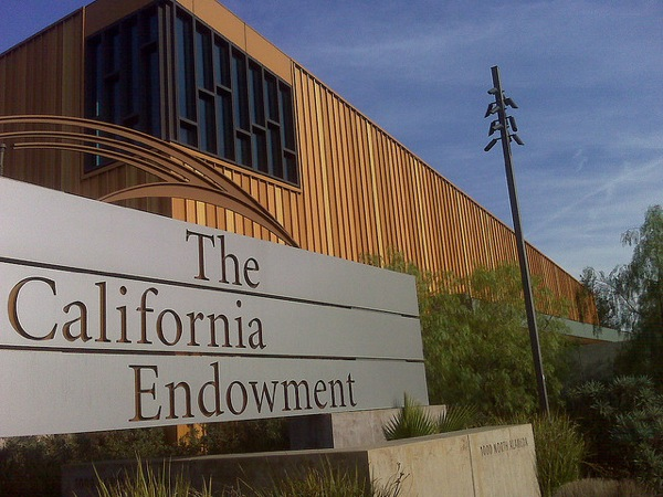 The California Endowment in downtown Los Angeles.