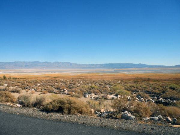 Owens Dry Lake Bed in the Owens Valley.
