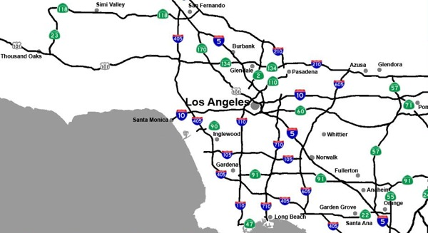 What do the la freeway system and the lewis and clark expedition la freeway system numbers publicscrutiny Images