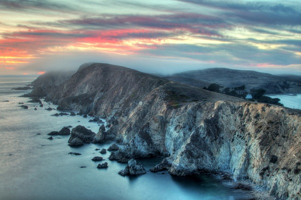 Point Reyes National Seashore was designated by John F. Kennendy.