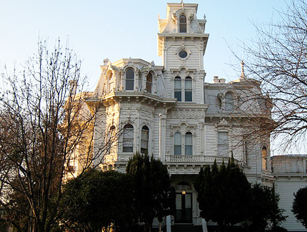 Governor's Mansion in Sacramento.