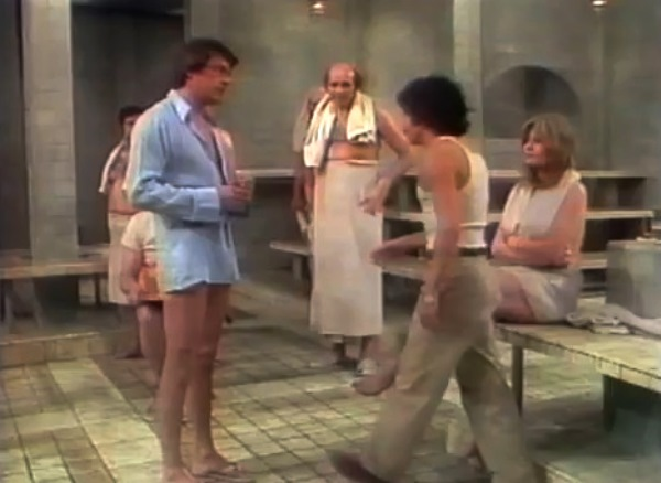 KCET's production of Steambath 1973 | Bill Bixby, Jose Perez, Valerie Perrine