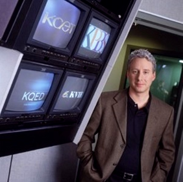 David Brancaccio, the original host of 'California Connected' | 2002