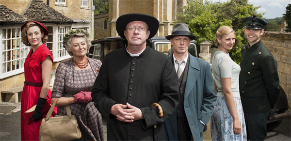 The cast of 'Father Brown'