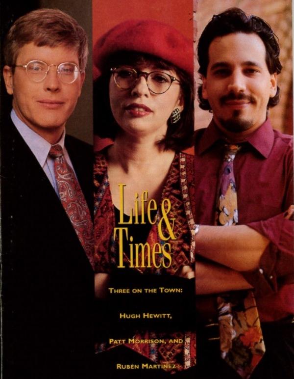 Hugh Hewitt, Patt Morrison, Rubén Martinez | Life & Times 1993