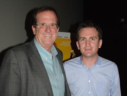 Host Pete Hammond and Director Jake Schreier