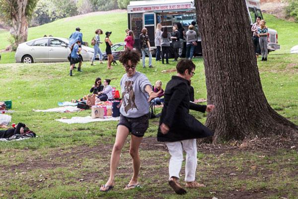 Dancing at Dyke Day 2015   Photo: Maya Santos