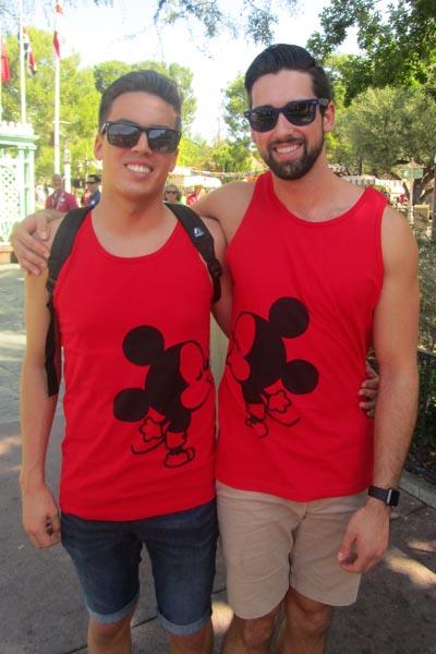 Young Couple I Photos Courtesy of Gay Days Anaheim